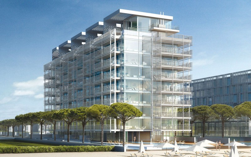 Pps group jesolo lido condo building pps group for Richard meier opere